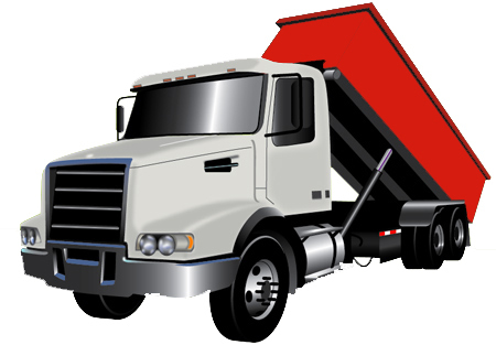 truck for dumpster rentals in Austin, Texas